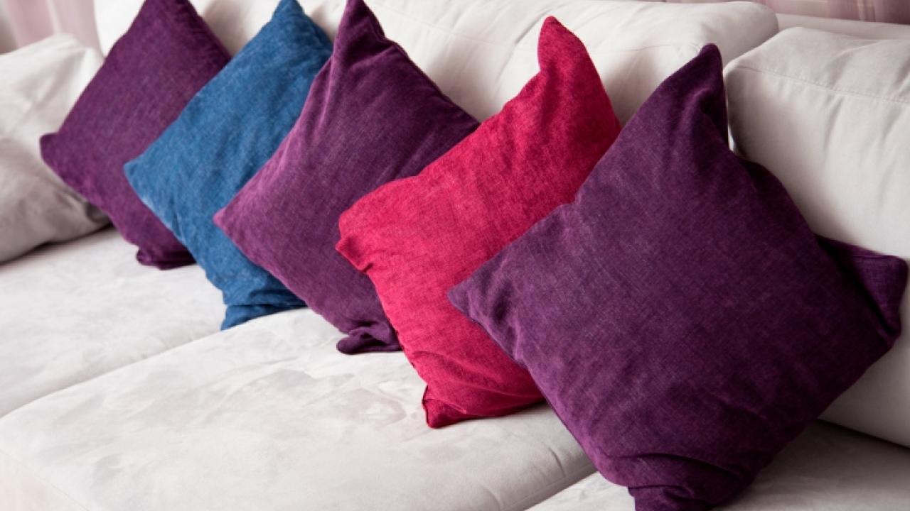 Tejidos, telas y textiles para cojines.