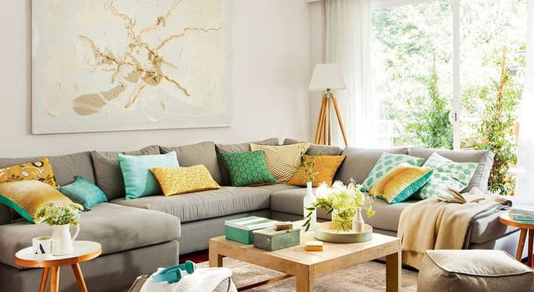 Decorar tu sofá