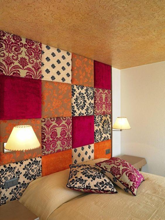Decoración con telas y textiles